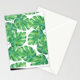 Tropical Palm Leaf 04 Stationery Cards