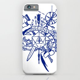 DUNGEON PARTY - FANTASY ART iPhone Case