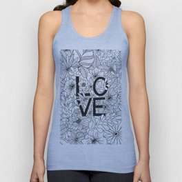 Love is all you need Unisex Tank Top