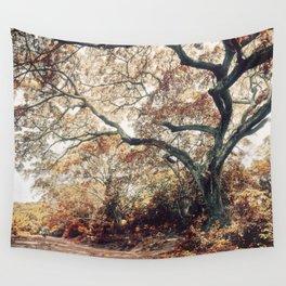 Crimson Fate - Magical Realism Life Wall Tapestry