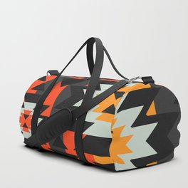 Aztec geometry Duffle Bag