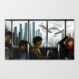 Imaginary Skyline Canvas Print