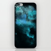 psychology iPhone & iPod Skins featuring a cold nebula by Gabrielle Agius