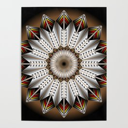 Feather Design Poster