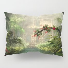 Lost City in the jungle Pillow Sham