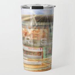 Arsenal Football Club Emirates Stadium London Sun Rays Travel Mug