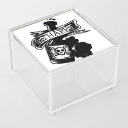 Be happy banner, custom gift design Acrylic Box