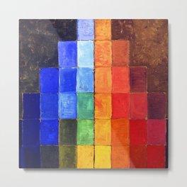 Hot Dissonance, Cold Dissonance Color Palette - The Talisman of Sérusier by Paul Serusier Metal Print