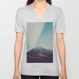 Mountains in the background XIII Unisex V-Neck