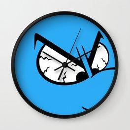 Angry Smurf Wall Clock