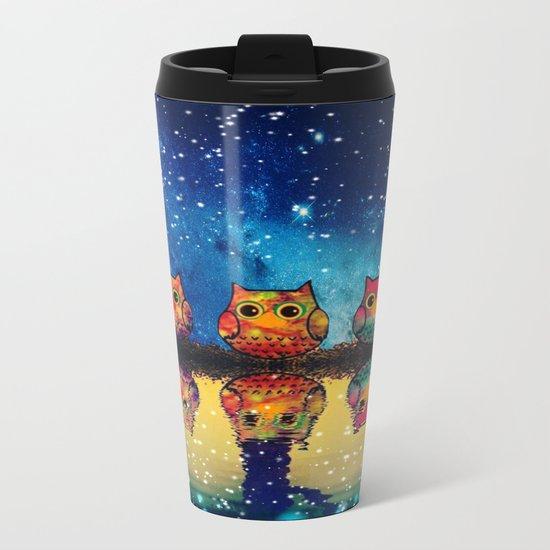 owl-410 Metal Travel Mug