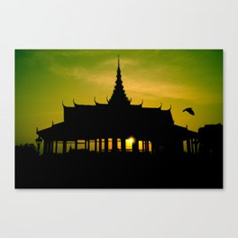 Royal Palace, Phnom Penh Canvas Print