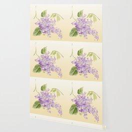 floral lilac Wallpaper