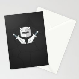Exile From Ullathorpe - Helmet and Swords Dark Stationery Cards