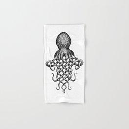 Knotopus, the Celtic Knot Octopus Hand & Bath Towel