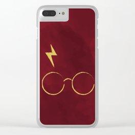 Harry Magician Retrò Clear iPhone Case