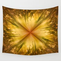 grass Wall Tapestries featuring Grass by Susann Mielke