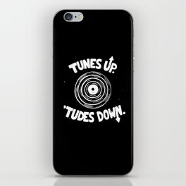 TUNES UP iPhone Skin