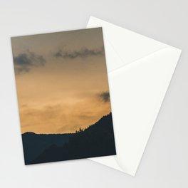 Sunset peace Stationery Cards