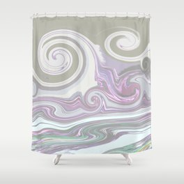 LIGHT MIX Shower Curtain