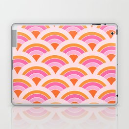 Rainbow connection - tangerine Laptop & iPad Skin