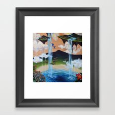 Costa Rican Lagoon Framed Art Print