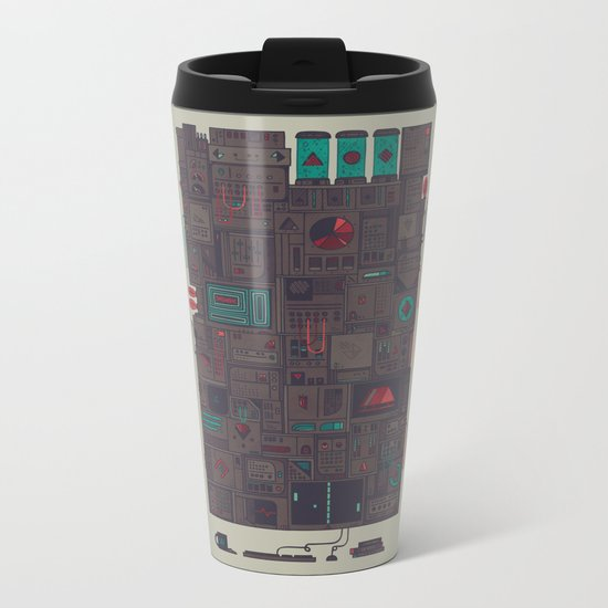 AFK Metal Travel Mug