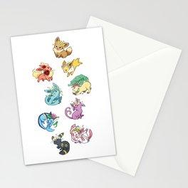 Eeveelutions Stationery Cards
