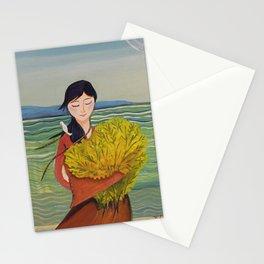 AoiShima KiiroiHana | Yuko Nagamori Stationery Cards