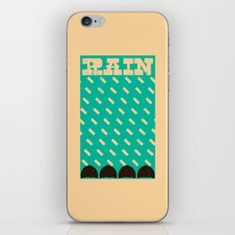 Lluvia iPhone Skin
