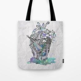 Davy Jone's Heart Tote Bag