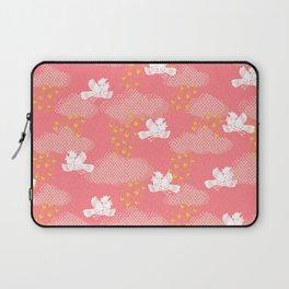 Rain Birds - Pink Laptop Sleeve