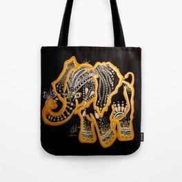 Elated Ellie Tote Bag