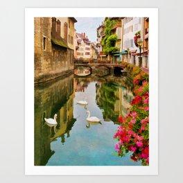 Annecy France Art Print