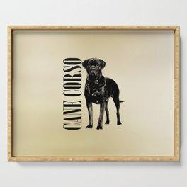 Cane Corso - Italian Mastiff Serving Tray