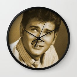 Michael Landon Wall Clock