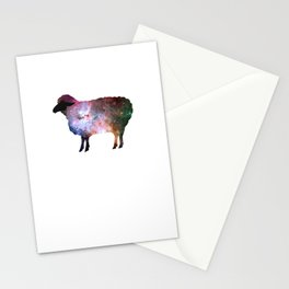 Psychedelic Sheep of the Family (2) Stationery Cards