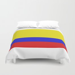 colombia flag Duvet Cover