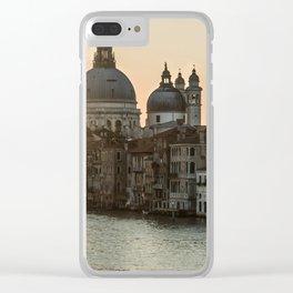 Sunrise over Venice Clear iPhone Case