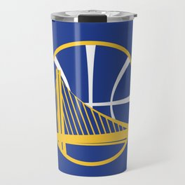 Warriors Logo Travel Mug