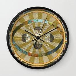 Celestial Map 1660c Wall Clock