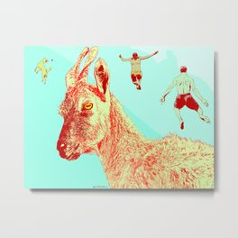 Goat I (Lie to Me) Metal Print