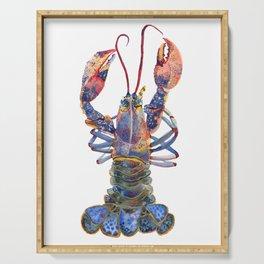 Kaliedoscope Lobster Serving Tray