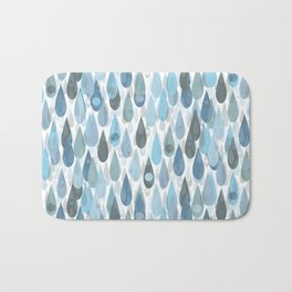 Let It Rain V Bath Mat