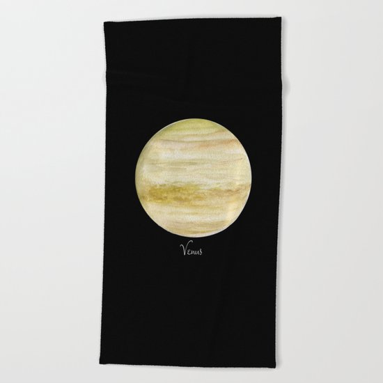 Venus #2 Beach Towel