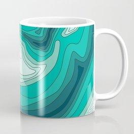ocean dephts map Coffee Mug