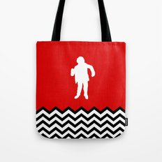 Black Lodge Dreams: Man From Another Place (Twin Peaks) Tote Bag
