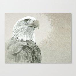 Bald Eagle Majestic Canvas Print