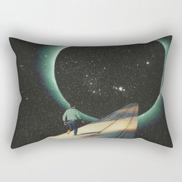 Escaping into the Void Rectangular Pillow