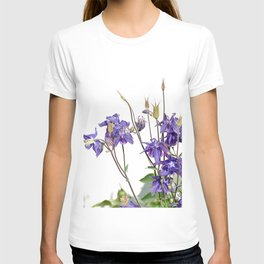 lilac flowers # # nature T-shirt